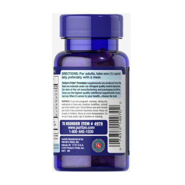 Viên Uống Bổ Sung Vitamin Puritan's Pride Vitamin B50 Complex Lọ 100 Viên