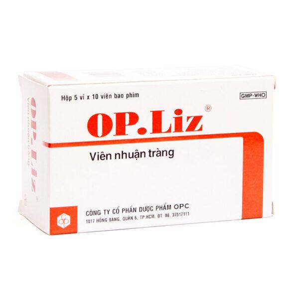 OP Liz Hộp 50 Viên - Nhuận Tràng, Tẩy Táo Bón