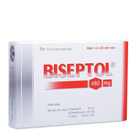 Thuốc Biseptol-Hộp 20 Viên-Điều Trị Nhiễm Khuẩn
