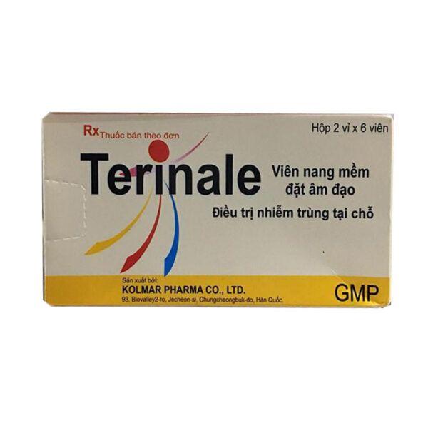 Thuốc Terinale - Hộp 12 Viên - Điều Trị Viêm Âm Đạo