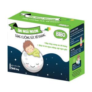 Bibo Ăn Ngủ Ngon-Hộp 20 Ống-Giúp Trẻ Ăn Ngon Ngủ Tốt