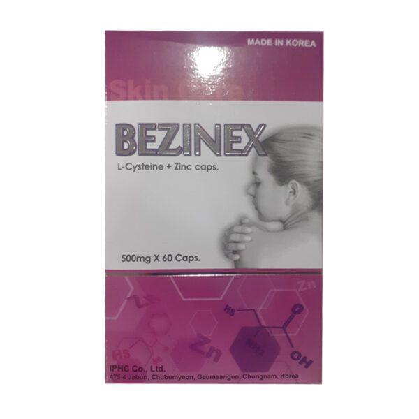 Bezinex Hộp 60 viên - Hỗ trợ điều trị sạm da, tàn nhang