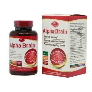 Alpha Brain Lọ 60 Viên - Bổ Não, Hỗ Trợ Tuần Hoàn Não