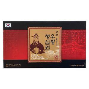 Korea Woohwang Cheongsimwon-Hộp 10 Viên-Phòng Ngừa Nguy Cơ Tai Biến
