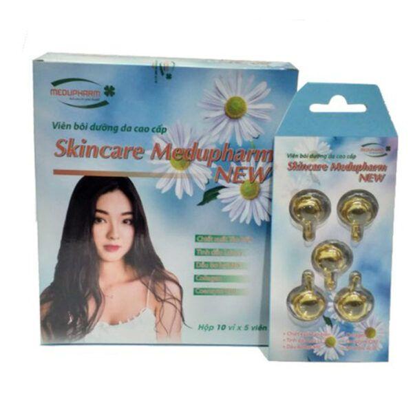 Skincare Medupharm New Hộp 50 viên - Viên bôi dưỡng da