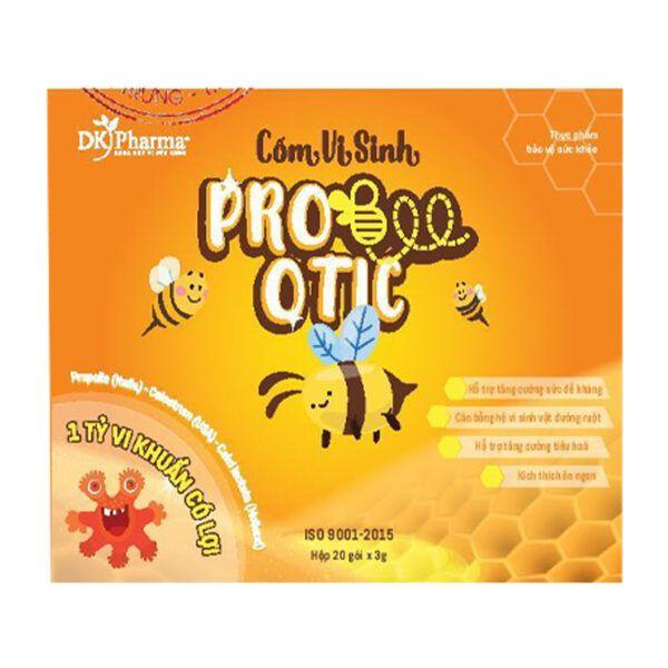 Pro Bee Otic Hộp 20 Gói - Cân Bằng Hệ Vi Sinh Đường Ruột