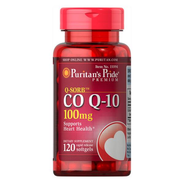 Q-SORB™ Co Q-10 100mg Lọ 120 Viên - Hỗ Trợ Sức Khỏe Tim Mạch