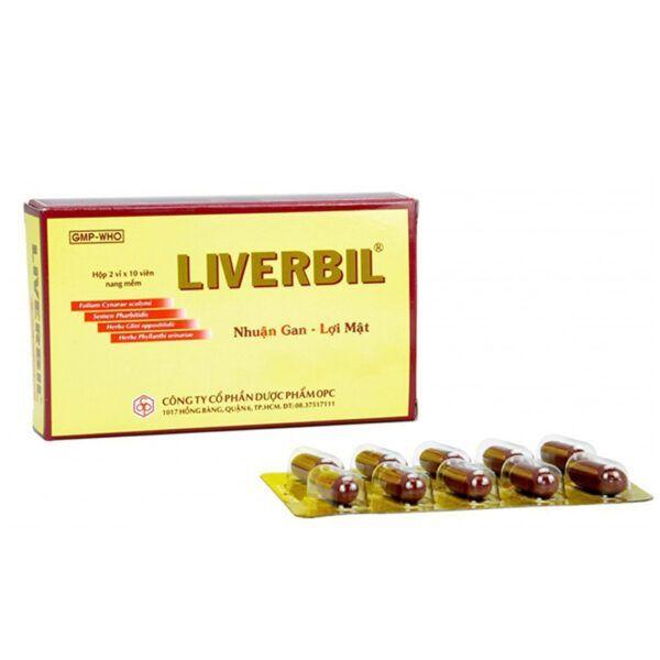 Liverbil Hộp 20 viên - Phòng và hỗ trợ điều trị viêm gan