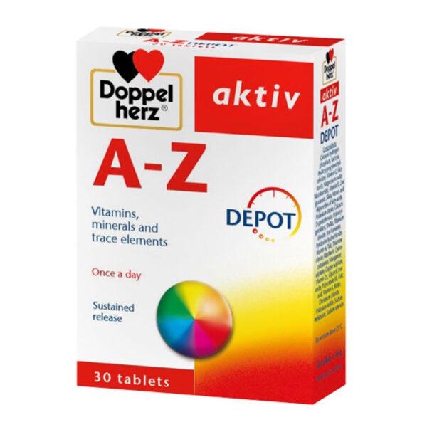 A Z Depot Doppel Herz Hộp 30 Viên - Viên Uống Vitamin Tổng Hợp