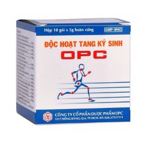 Độc hoạt tang ký sinh OPC Hộp 10 gói - Hỗ trợ điều trị bệnh về khớp