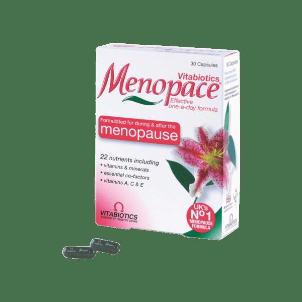 Menopace Hộp 30 viên - Duy trì nồng độ Canxi thời tiền mãn kinh