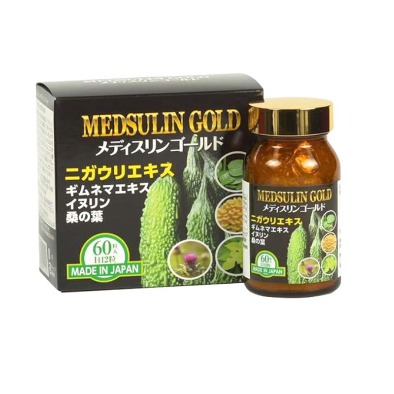 Viên tiểu đường Medsulin Gold hộp 60 viên