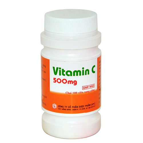 Vitamin C 500mg Lọ 50 viên - Bổ sung Vitamin cho cơ thể