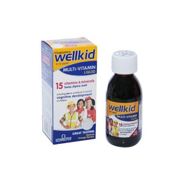 WellKid Lọ 150ml - Giúp bổ sung vitamin, khoáng chất cho trẻ em