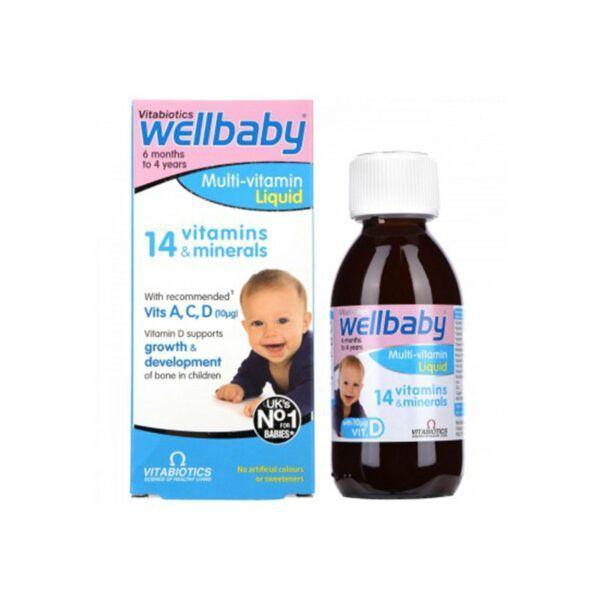 Wellbaby Lọ 150ml - Vitamin tổng hợp cho trẻ nhỏ