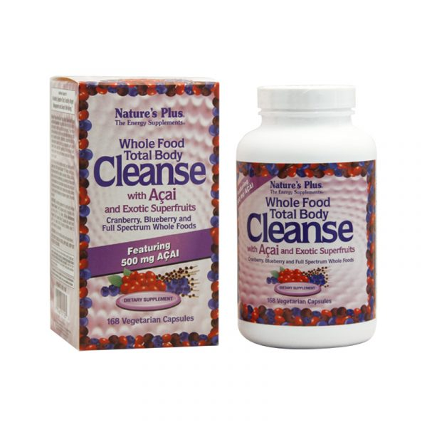 Whole Food Total Body Cleanse-Hộp 168 Viên-Giúp Thanh Lọc Cơ Thể