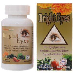 Bright Eyes-Hộp 60 Viên- Cung Cấp Dưỡng Chất Cho Mắt