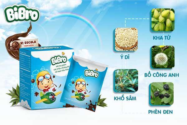 Bibro-Hộp 20 Gói-Hỗ Trợ Đường Tiêu Hóa Cho Trẻ