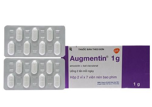 Thuốc Augmentin-Hộp 14 Viên- Điều Trị Bệnh Nhiễm Khuẩn