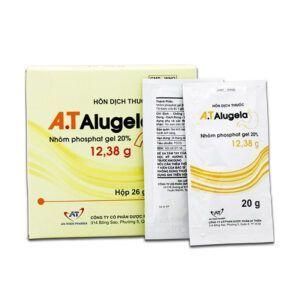 A.T Alugela 12,38g Hộp 26 Gói - Điều Trị ViêmDạ Dày