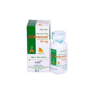 A.T Ambroxol 30mg/5ml Chai 30ml - Điều trị Bệnh ĐườngHô Hấp