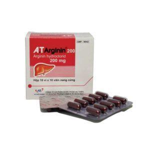 A.T Arginin 200 Hộp 30 Viên - Điều Trị Duy Trì Amoniac Máu
