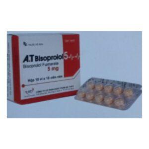 A.T Bisoprolol 5 Hộp 100 Viên - Điều Trị Tăng Huyết Áp