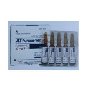 A.T Furosemid 20mg/2ml Hộp 10 Ống - Điều Trị Tăng Huyết Áp