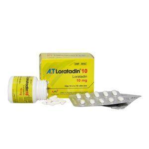 A.T Loratadin 10 Hộp 100 Viên - Điều Trị Viêm Mũi Dị Ứng