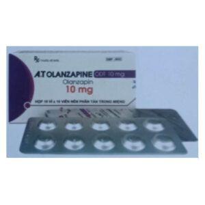 A.T Olanzapine ODT 10mg Hộp 100 Viên - Điều Trị Tâm Thần Phân Liệt