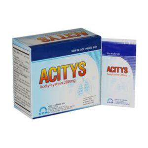 Acitys Hộp 30 Gói - Thuốc Tiêu Chất Nhầy