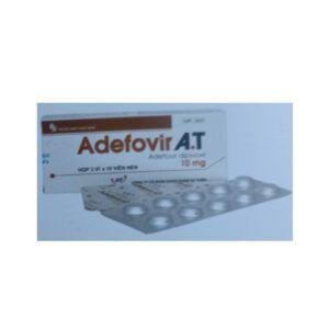 Adefovir A.T10mg Hộp 30 Viên - Điều Trị Viêm Gan B Mạn Tính