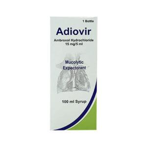 Adiovir 15mg/5ml Hộp 100ml - Điều Trị Bệnh Đường Hô Hấp