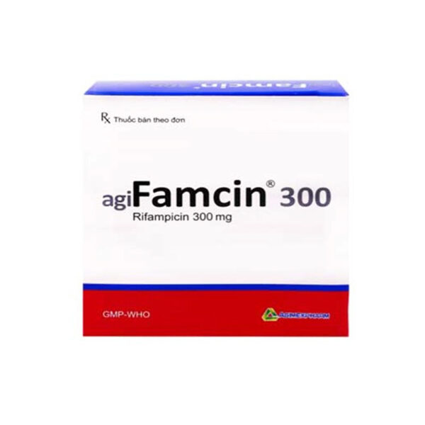 Agifamcin 300 Hộp 100 viên - Điều trị lao