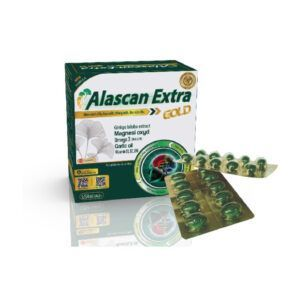 Alascan Extra Hộp 100 Viên - Tăng Cường Tuần Hoàn Não