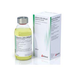 Albiomin 20% Chai 100ml - Cung cấp huyết tương