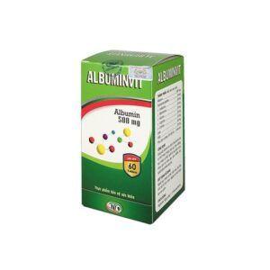 Albuminvit Hộp 60 viên - Hỗ trợ tăng cường sức khỏe