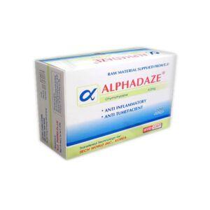 Alphadaze Hộp 100 viên - Điều trị phù nề sau chấn thương