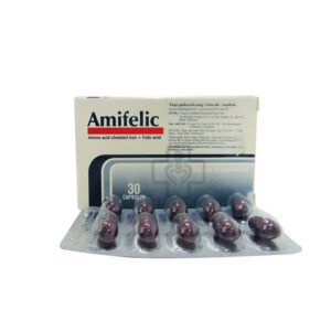 Amifelic Hộp 30 Viên - Bổ Sung Sắt Và Acid Folic