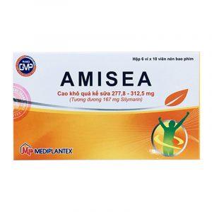 Amisea Hộp 60 Viên - Điều Trị Viêm Gan Mạn Tính