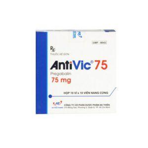 Antivic 75 Hộp 100 Viên - Điều Trị Đau Thần Kinh