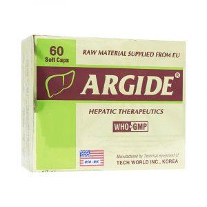 Argide Hộp 60 Viên - Điều Trị Suy Giảm, Rối Loạn Chức Năng Gan