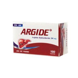 Argide Hộp 100 Viên - Điều Trị Suy Giảm Chức Năng Gan