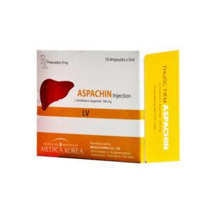 Aspachine Hộp 10 Ống - Điều Trị Tăng Amoniac Máu