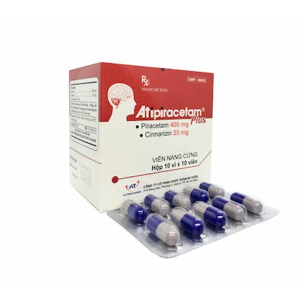 Atipiracetam Plus Hộp 100 Viên - Điều Trị Suy Mạch Não Mạn Tính
