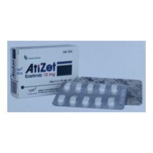 Atizet 10mg Hộp 30 Viên - Điều Trị Tăng Choresterol Nguyên Phát