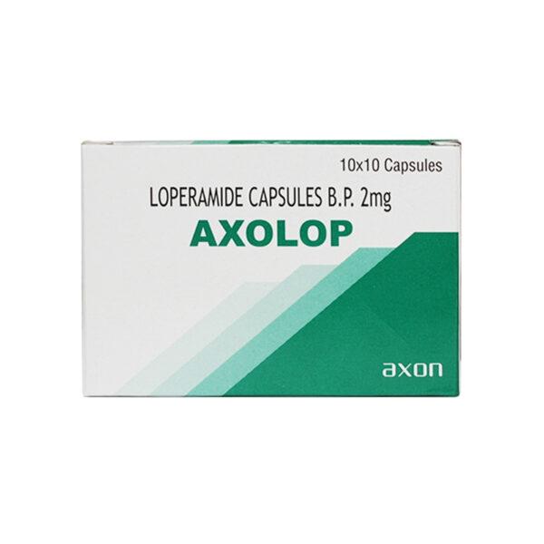 Axolop Hộp 100 viên - Giảm triệu chứng tiêu chảy cấp