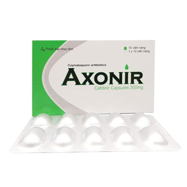 Axonir 300 Hộp 30 viên - Điều trị nhiễm trùng nhẹ đến vừa