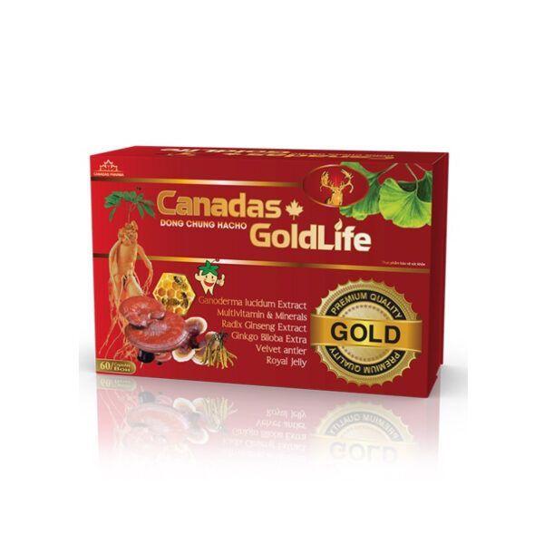 Canadas Goldlife Hộp 60 Viên - Bổ Sung khoáng Chất Cho Cơ Thể