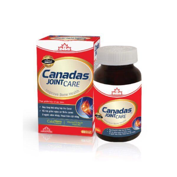 Canadas Jointcare Lọ 60 Viên - Bổ Sung Canxi Và Vitamin Cho Cơ Thể